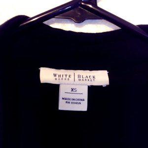 White House Black Market vest wrap